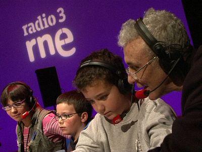 'Como lo oyes', de Radio 3, con niños