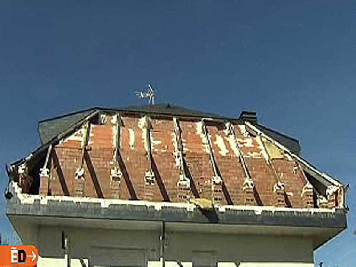 España Directo - El tejado se desplomó