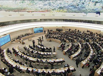 El Consejo de Derechos Humanos de la ONU, con sede en Ginebra, se ha reunido para hablar de Libia.