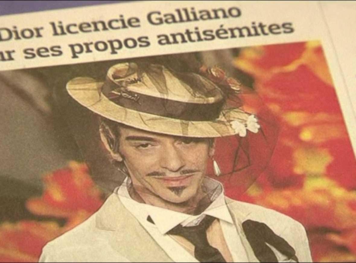 John Galliano, despedido por Dior por proferir insultos racistas y antisemitas