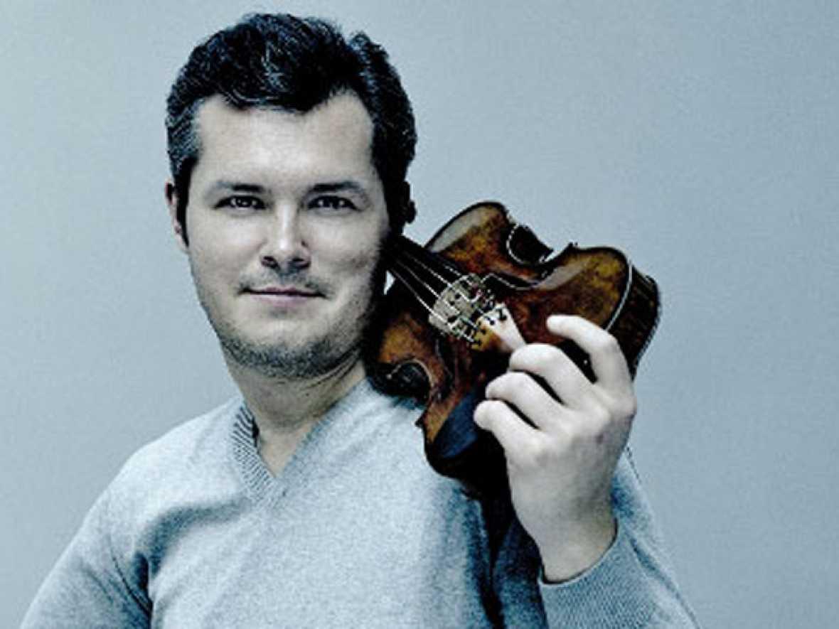 Programa de mano' entrevista al violinista ruso Vadim Repin