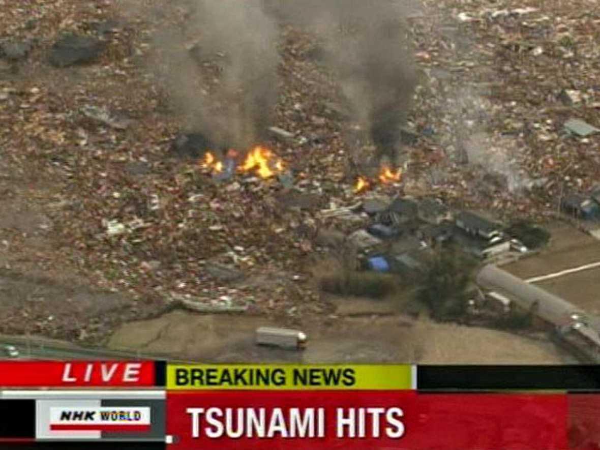 Alerta de tsunami por un terremoto de 8,8 en Japón