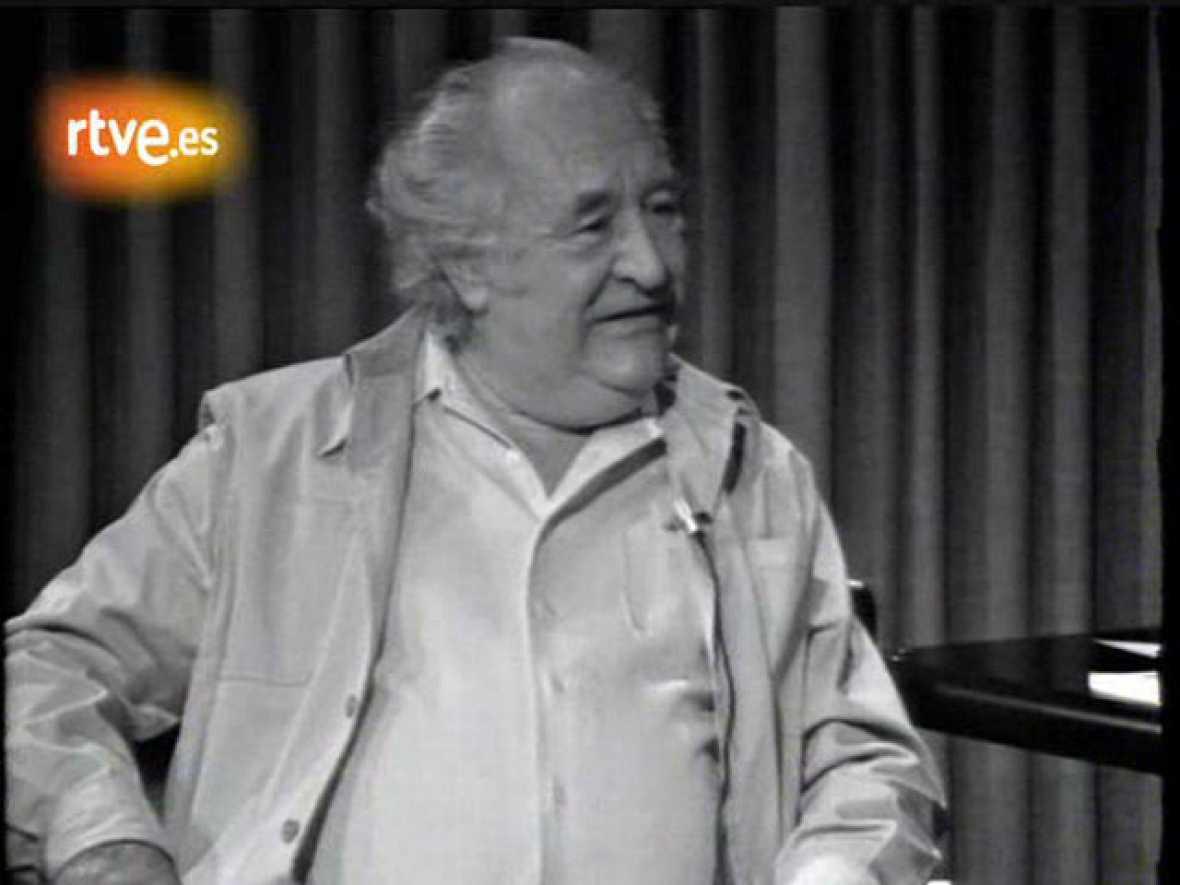 El poeta Gabriel Celaya, en 'A fondo' (1978)