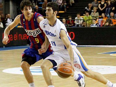 El Regal FC Barcelona continúa como líder una semana más tras sufrir para vencer a un Menorca Basquet (73-78), colista, que a punto estuvo de dar la sorpresa, pero que se desinfló en los últimos minutos del partido