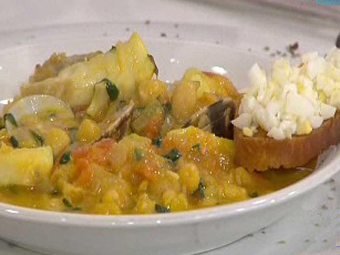 Saber cocinar - Potaje de vigilia con almejas (18/03/11)