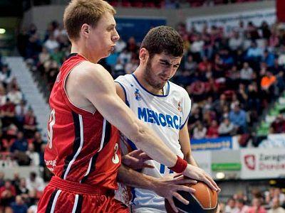 El CAI Zaragoza tiene casi asegurada la permanencia en la ACB después de superar con facilidad al colista, Menorca Bàsquet, al que se impuso por 76-65 en el Príncipe Felipe.