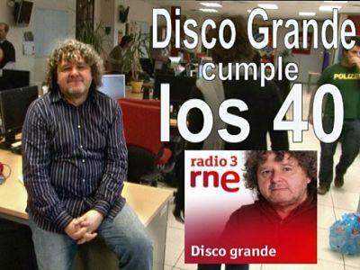 Disco Grande cumple 40 años