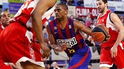 El Regal Barcelona se ha impuesto en el derbi catalán de la jornada en la ACB al derrotar al Assignia Manresa.