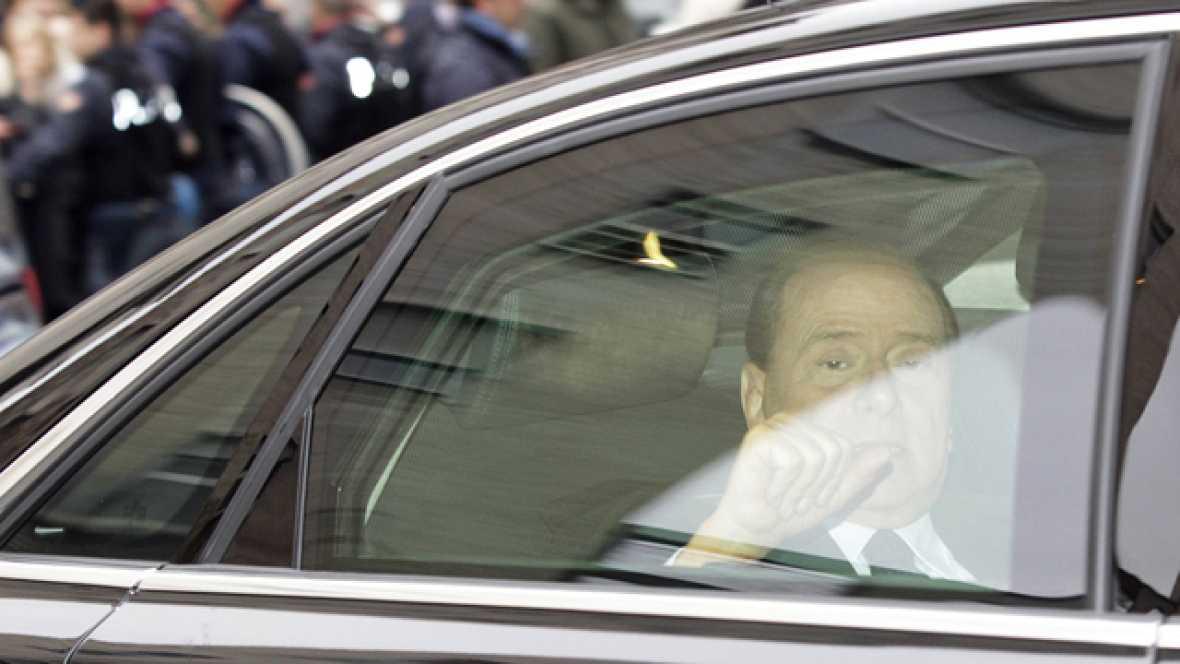 Berlusconi ha vuelto a sentarse ante un tribunal después de ocho años