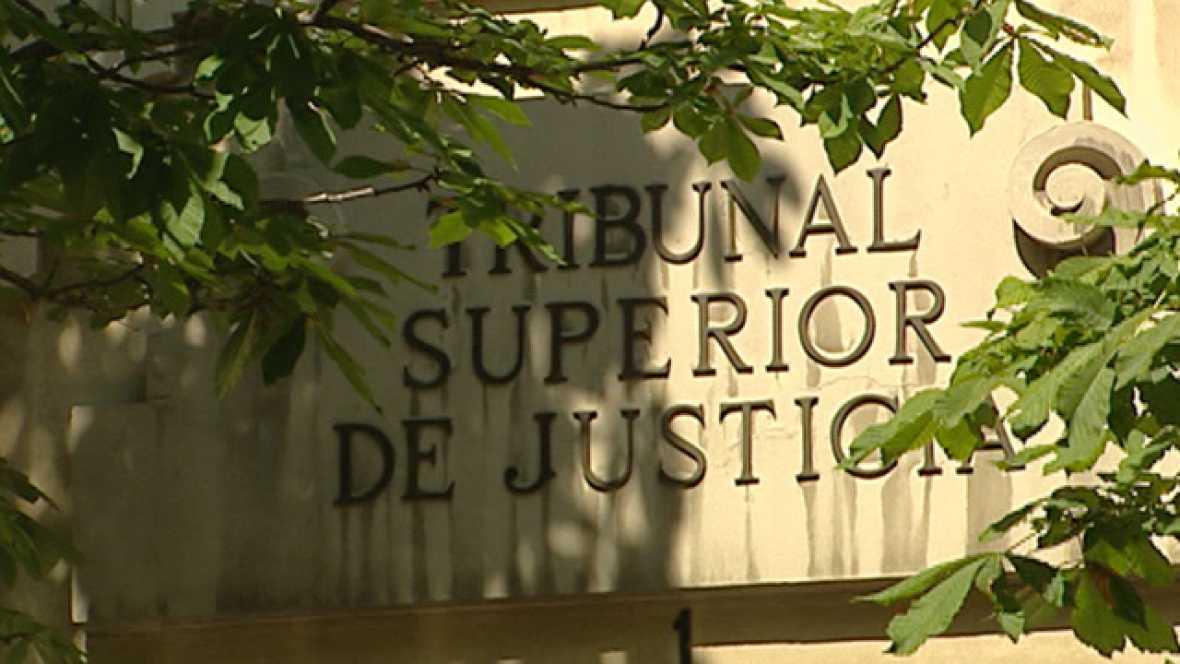 El extesorero del PP Luis Bárcenas ha declarado como imputado en el Tribunal Superior de Madrid