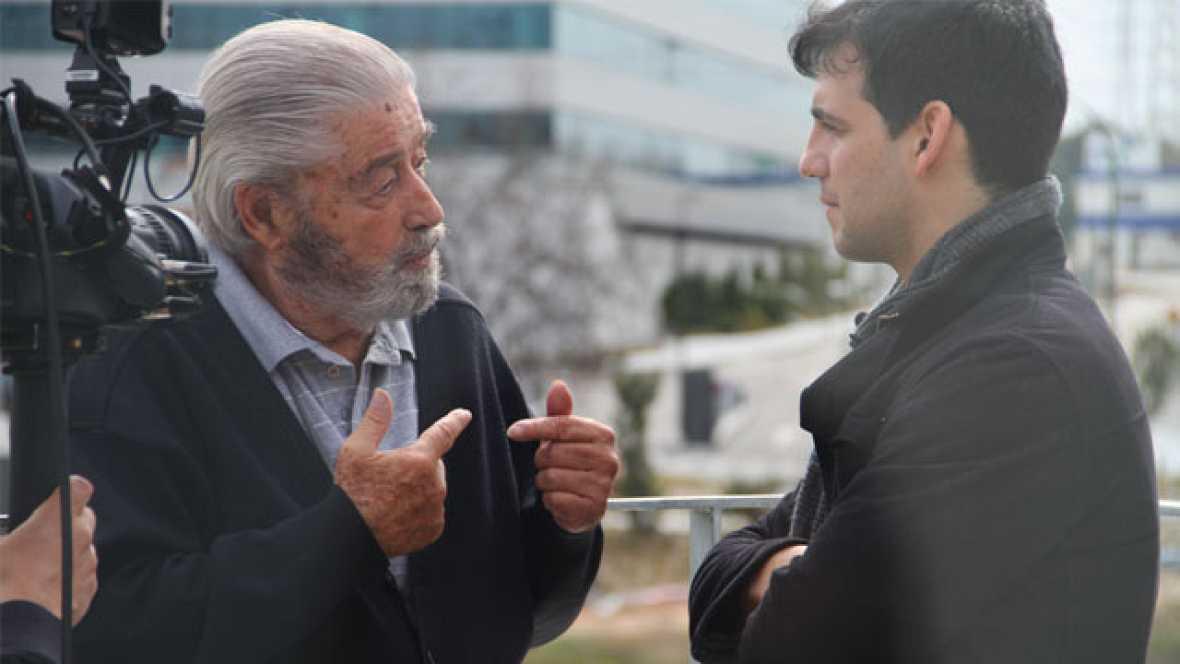 En movimiento con - Fran Perea - El cantante y actor Fran Perea la Fundación Horizontes Abiertos del Padre Garralda