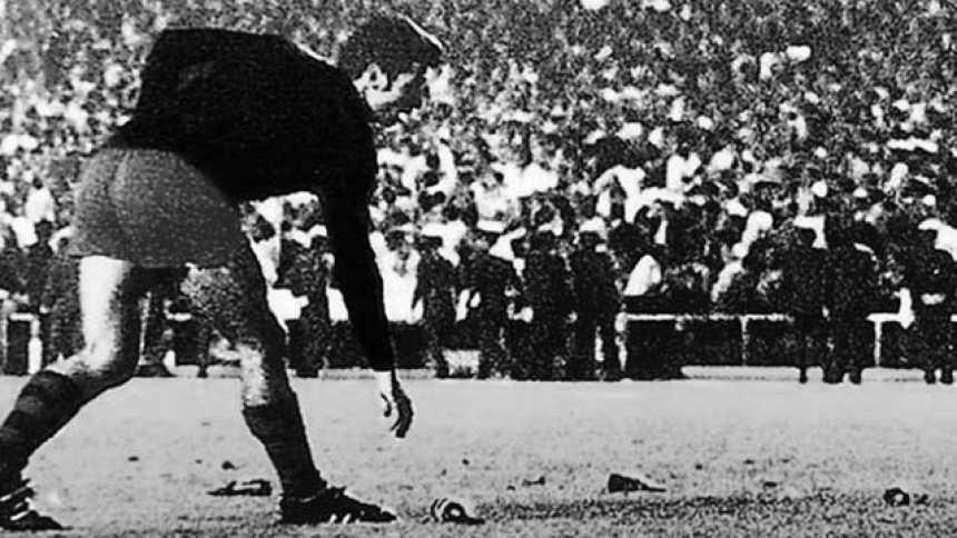 El Barça se hizo con la victoria en la final de las botellas (1968)