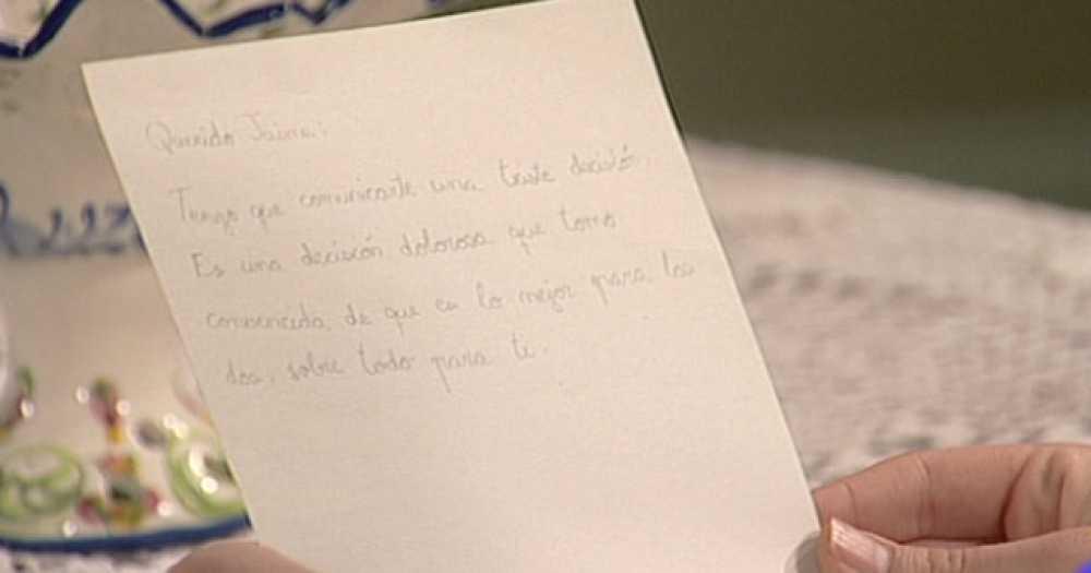 Amar - Una carta de desamor