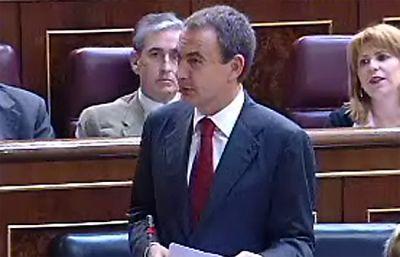 Rodríguez Zapatero responde a un pregunta sobre Ascó