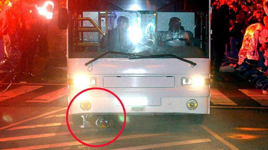 La Copa del Rey, atropellada por el autobús del Real Madrid