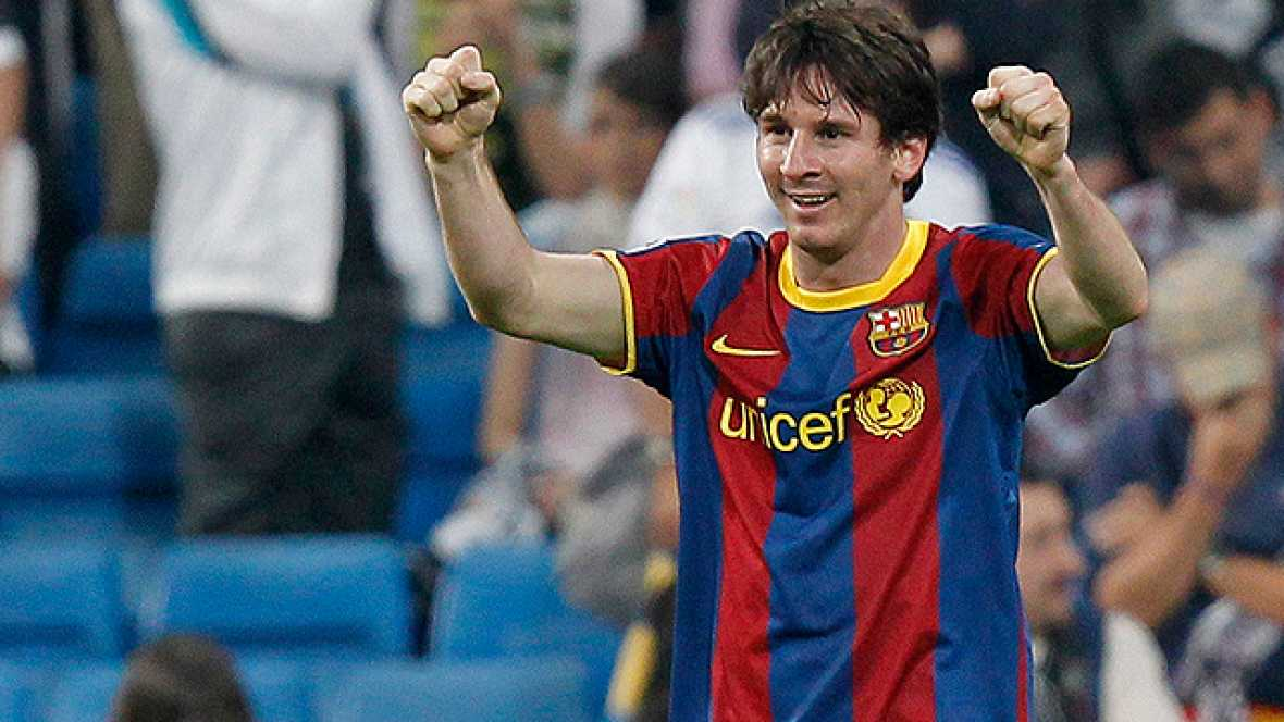 El Barcelona se impuso en el Bernabéu con dos goles de Messi en un partido plagado de polémica y falto de fútbol, con acciones duras en ambos bandos y declaraciones explosivas al final del choque.