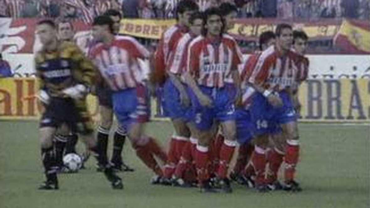 La última jornada liguera de la temporada 1995/96