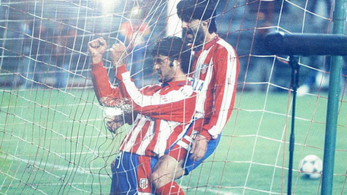 El alirón del Atleti en la Liga de 1996