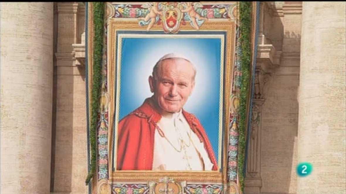 El día del Señor - Misa de beatificación de Juan Pablo II, 1 parte  - Ver ahora