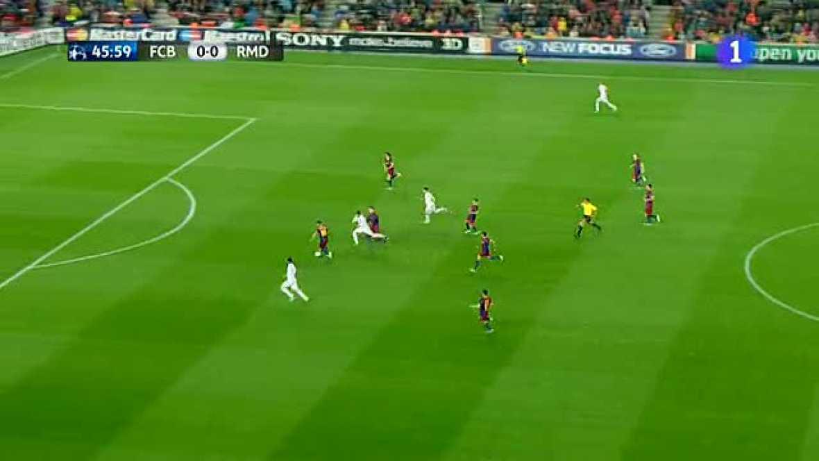 El árbitro belga De Blekeere anula un gol de Higuaín por falta previa de Cristiano Ronaldo