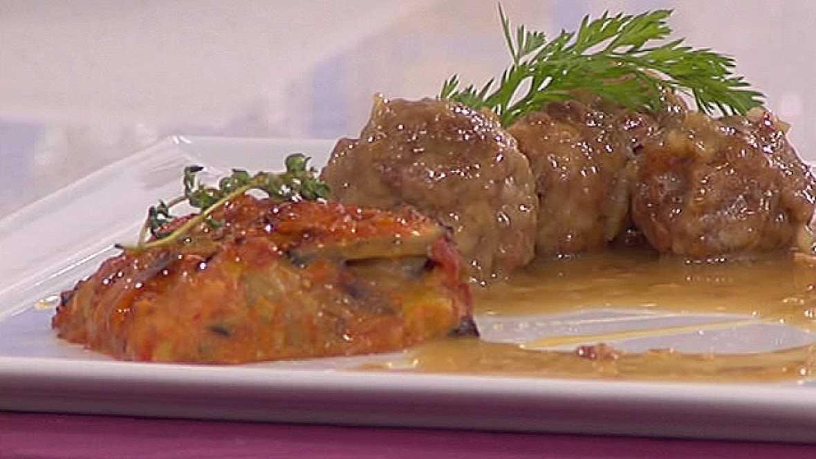 Saber cocinar - Albóndigas al cava rellenas de jamón y bacon (06/05/11)