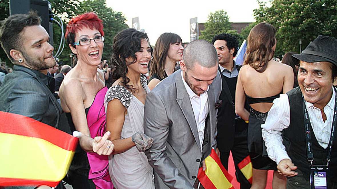 Eurovisión 2011 - Alfombra roja de la fiesta de bienvenida