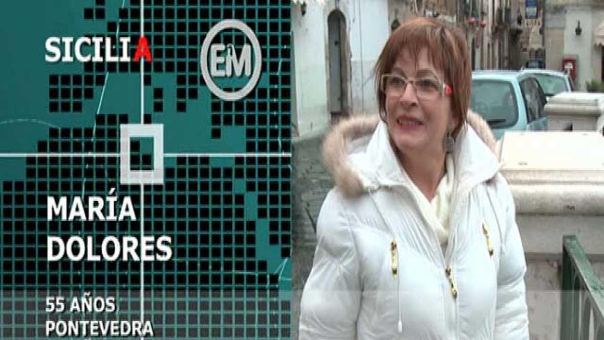 Españoles en el mundo - Sicilia - María Dolores