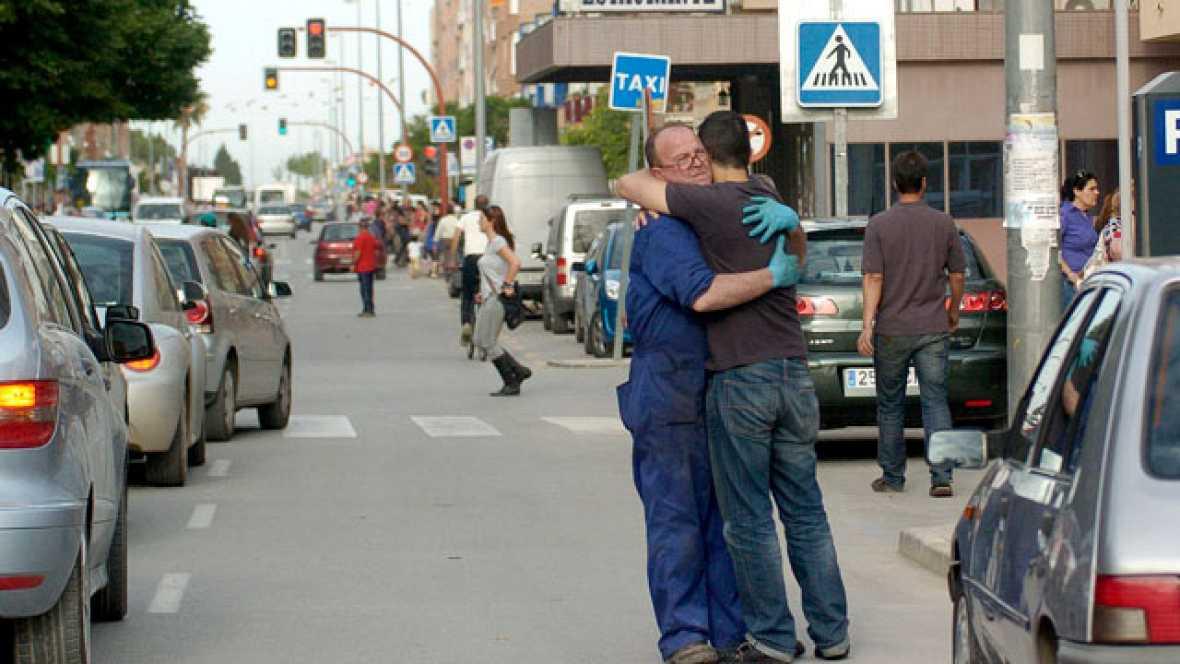 Los dos terremotos que este miércoles han afectado a la localidad murciana de Lorca han dejado 10 víctimas mortales se han producido poco antes de las siete de la tarde.