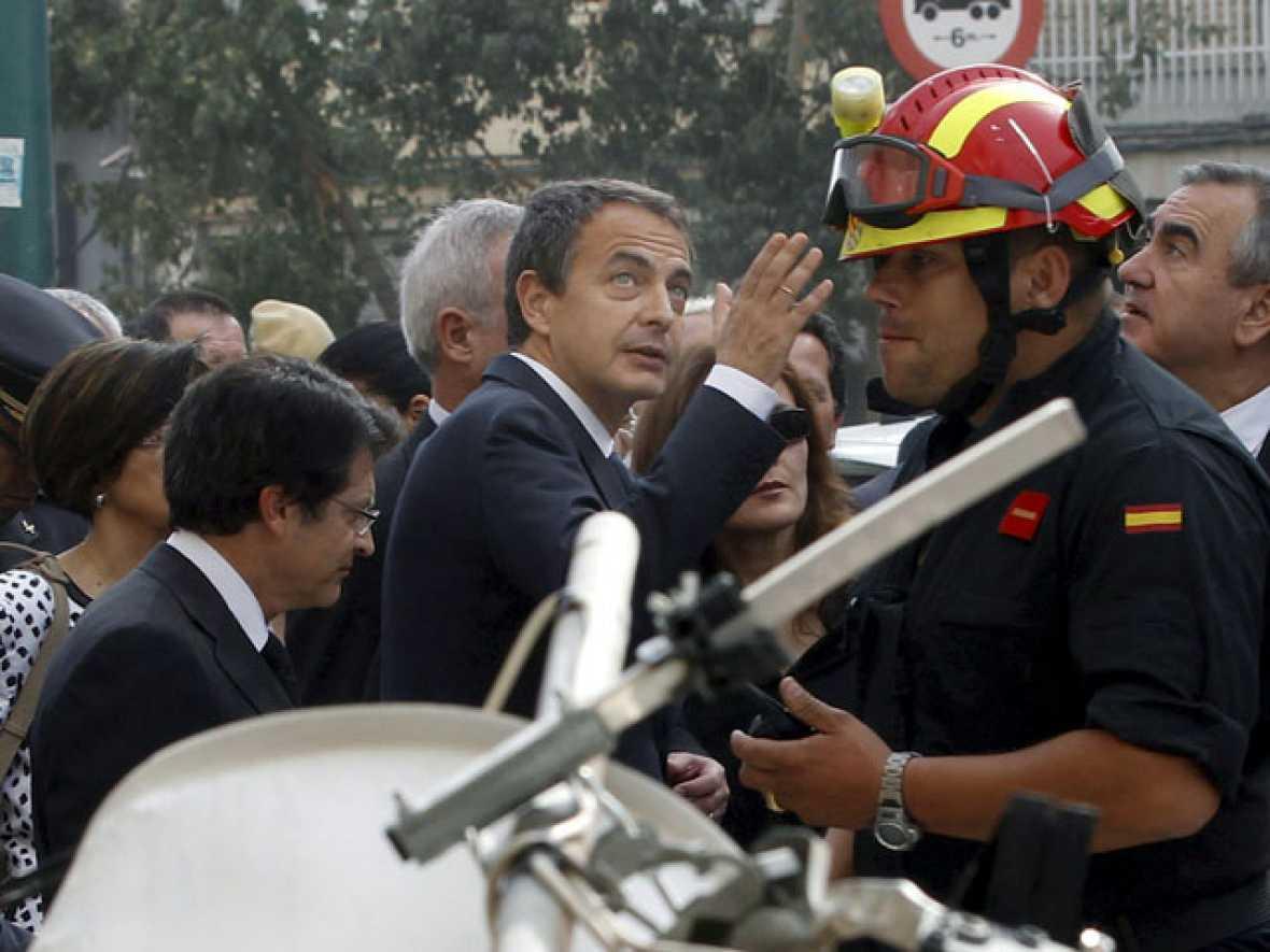 """Zapatero: """"Vamos a hacer que Lorca recupere la normalidad cuanto antes"""""""