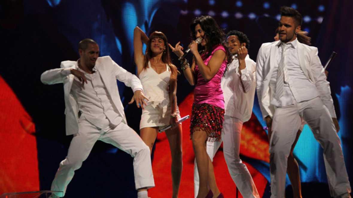 Primer ensayo general de Eurovisión 2011