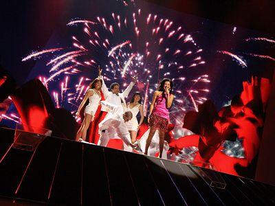 Lucía, preparada para la gran final de Eurovisión