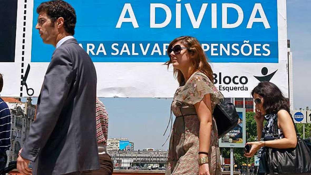El rescate obligará a Portugal a drásticos recortes para reducir el déficit público