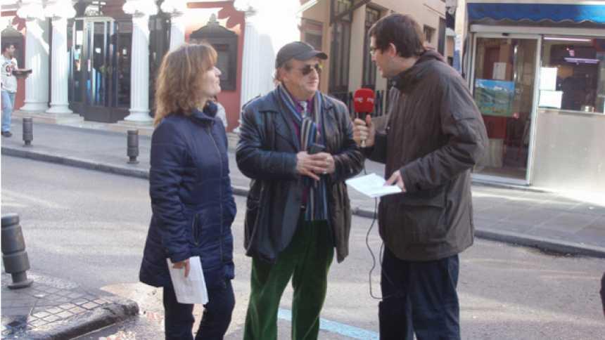 'Nómadas' en Madrid: la radio con imágenes