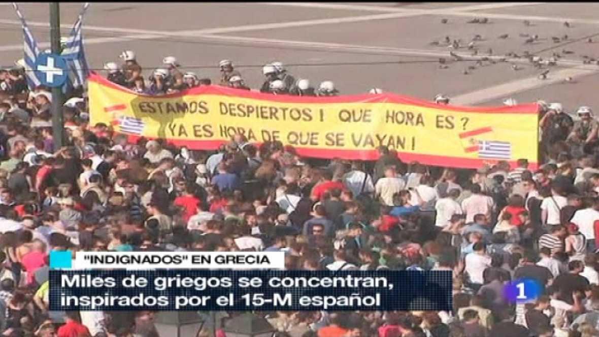 Telediario - 21 horas - 25/05/11 - Ver ahora