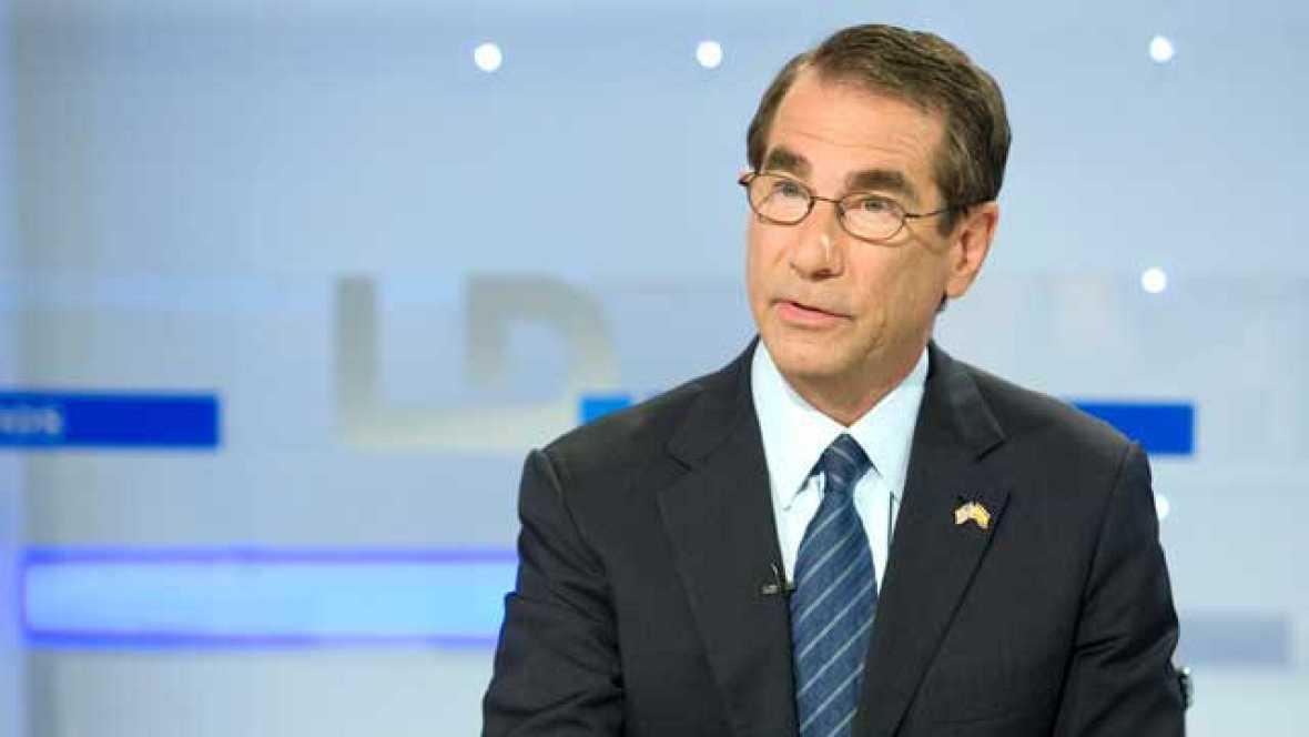El embajador de EE.UU. en España, Alan D. Solomont, ha asegurado en una entrevista en Los Desayunos de TVE que Estados Unidos apoya la ampliación de la democracia en Europa porque la UE es un gran aliado