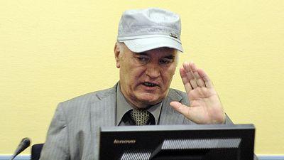 """Ratko Mladic comparece en La Haya: """"Soy un hombre gravemente enfermo"""""""