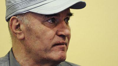 Ratko Mladic ha comparecido por primera vez ante el Tribunal Penal Internacional