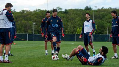 La selección española disputa ante EE.UU. un amistoso con sabor a revancha por la victoria de los americanos en la Copa Confederaciones de 2009