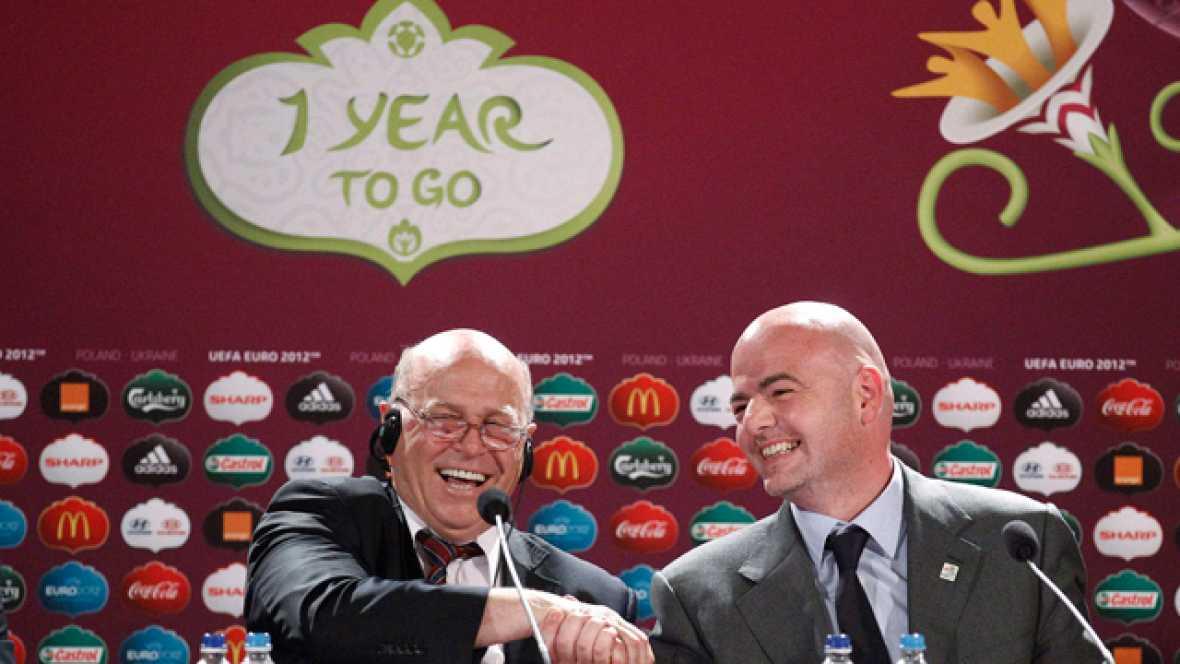 Falta un año para la Eurocopa 2012