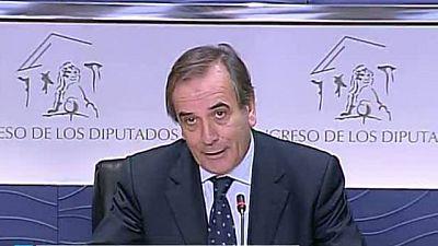 El portavoz del PSOE en el Congreso, José Antonio Alonso, hospitalizado por un ictus