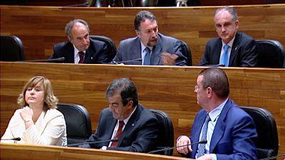 PSOE y PP pactan en el Parlamento de Asturias para dejar fuera a Foro Asturias