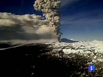 El volcán chileno Puyéhue no duerme