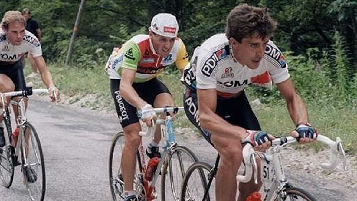 Perico Delgado llegó al Tour de 1987 como uno de los más firmes favoritos al triunfo final. Consigue arrancar bien en la primera semana y  no pierde demasiado tiempo en las etapas cronometradas. En las primeras etapas de montaña, logra un 3º y dos se