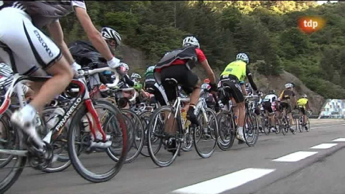 Marcha cicloturista Quebrantahuesos - Ver ahora