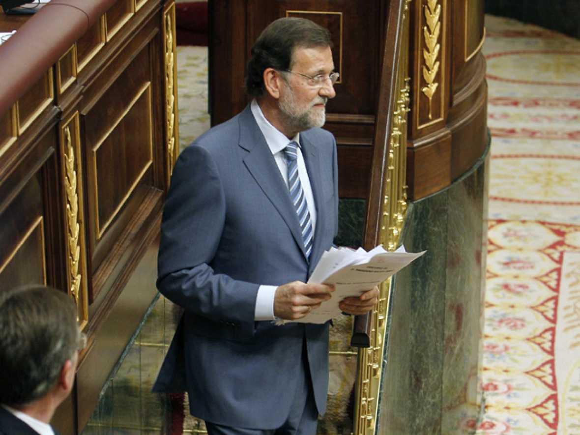 Discurso íntegro de Rajoy en el debate sobre el estado de la nación