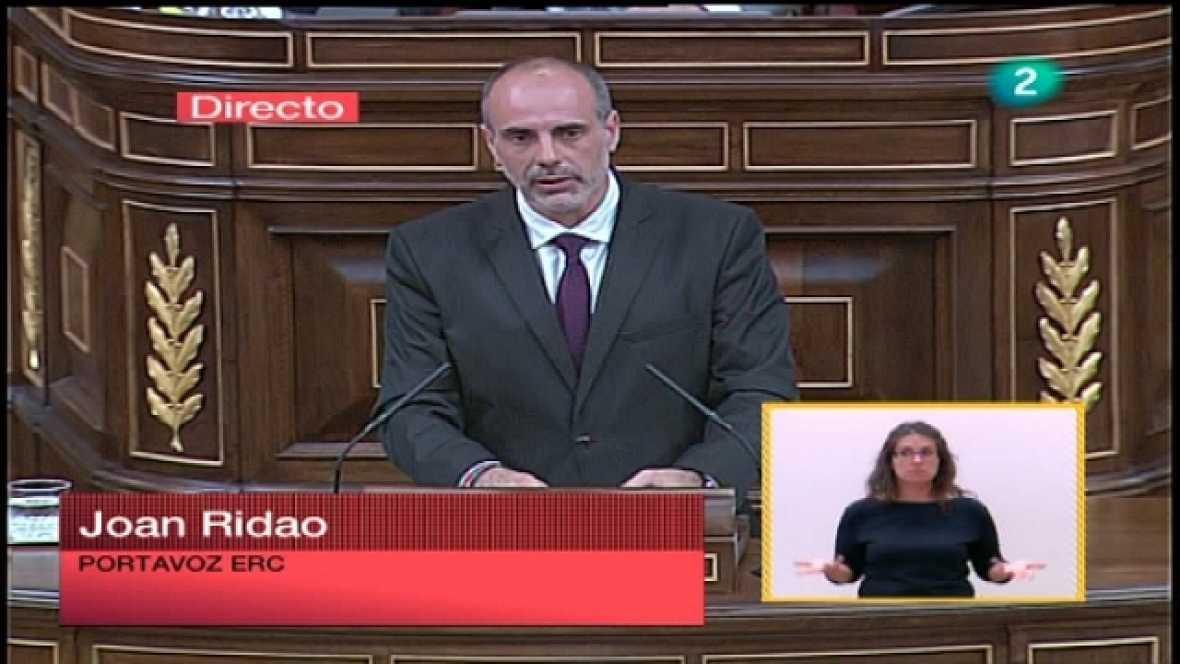Debate del estado de la nación 2011 - ERC, IU, ICV - Ver ahora