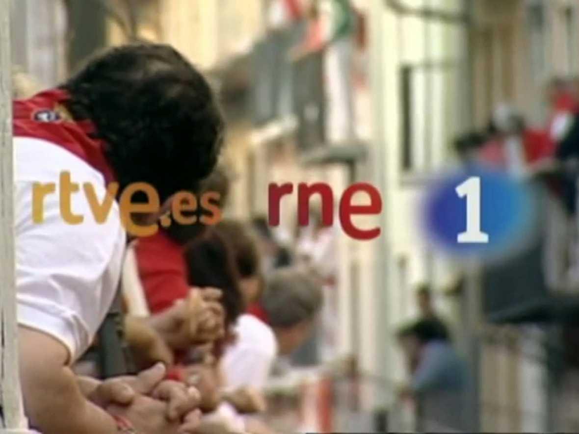 TVE, RNE y RTVE.ES ofrecen en directo los encierros de San Fermín 2011