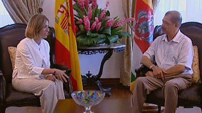 Viaje oficial de Carme Chacón a la República de Seychelles