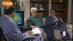 Dos ex combatientes en la Guerra Civil charlan 50 años después (1986)