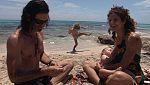 En familia - En la playa - Hippies en Formentera